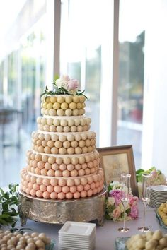 Cake Pop Wedding Cake | 27 Ideas For Adorable And Unexpected Wedding Cakes