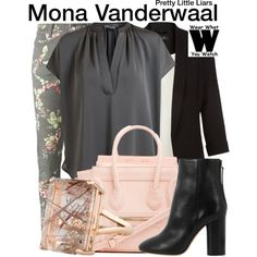 Inspired by Janel Parrish as Mona Vanderwaal on Pretty Little Liars.