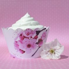 Sakura Cherry Blossom Cupcake Wrappers™