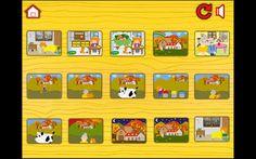 Aplicación infantil Lily y los animales