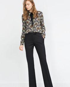 裤型:短裆阔腿裤型也适合我 但是需要减减肥 大腿围和胯有点肥 穿不出效果; 自己有一条灰色的,黑色也不错,可以入
