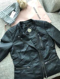 My new feak leather jacket from ONLY. Minun ihana uusi keinonahkatakki ONLYltä, ihanaa palvelua on helppo kehua! Kiitos Vero Moda Tornio