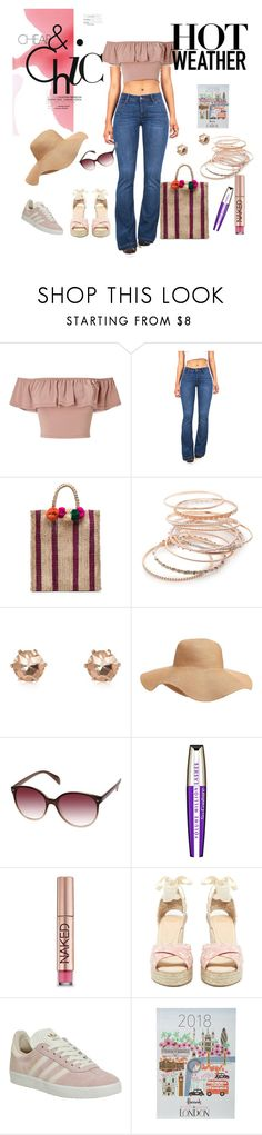 """sunny monday"" by r-schirru on Polyvore featuring moda, Miss Selfridge, Celebrity Pink, Kayu, Red Camel, River Island, Old Navy, L'Oréal Paris, Urban Decay e Castañer"