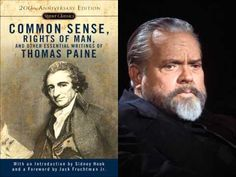 "Orson Welles   Thomas Paine   The American Crisis - ""These are the times that try men's souls..."""