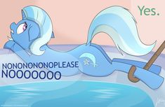 Trixie being a dirty horse by SarmaTeppou.deviantart.com on @DeviantArt