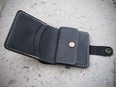 Купить Кошелек мужской портмоне из натуральной кожи ручной работы - портмоне, кошелек, ручная работа