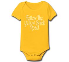 FOLLOW The Yellow BRICK ROAD  the wizard of oz by HumorApparel, $8.90