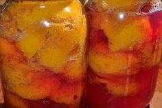 Foto de la receta de Melocotones en almíbar