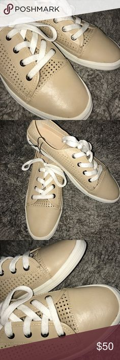 NEW ✨ Calvin Klein Jeans Marigold Fashion Sneaker New and never used without the box. Faux leather makes these very stylish for your casual outfits 💕 Calvin Klein Jeans Shoes Sneakers