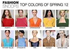 #colors spring 2012
