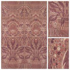 Syrah Sienna - Cotton Velvet by Robert Kime http://www.robertkime.com