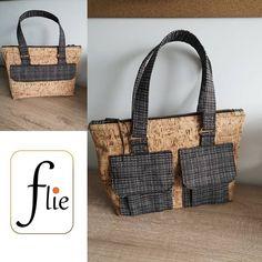Flie sur Instagram: Bonjour, Voilà un projet couture que j'avais en tête depuis quelques mois... Un nouveau sac pour Flie 🛍. Il s'agit du modèle Boléro de la…
