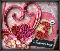 Hanezz Art: Card: 3rd Anniversary