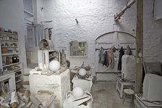 Barbara Hepworth's studio in St Ives. Really worth a visit, it's beautiful.