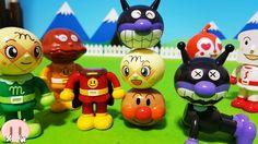 アンパンマン つむつむ!パチっとなフェイスをつむつむしてみたよ♪ 人気キャラクター ごっこ遊び おもちゃアニメ