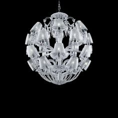Add enchantment to your house with Baccarat chandelier masterpieces! One of the most exquisite pieces is waiting for you in our baccarat lighting chandelier collection! Baccarat Chandelier, Baccarat Crystal, Ceiling Chandelier, Pendant Chandelier, Pendant Lighting, Ceiling Lights, Chandeliers, I Like Lamp, Lustre Baroque