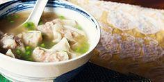 Resep Sup Pangsit Rumput Laut