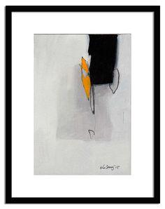 small wall black white yellow acrylic painting by kuzennyArt Modern Art, Abstract Expressionism, Art Painting, Figure Painting, Abstract Painting, Painting, T Art, Art, Abstract