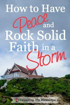 Life is hard. Storms happen. Being prepared in advance for the next storm is…