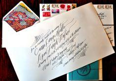 nice calligraphy...