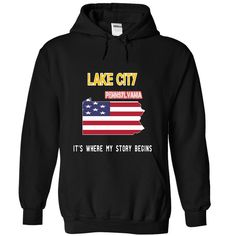 (Superior T-Shirts) LAKE CITY - Its where my story begins - Order Now...