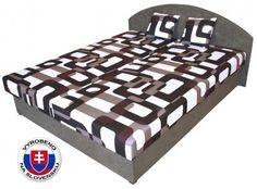Manželská postel 160 cm - Benab - Sara (+ rošty a matrace) http://www.hezkynabytek.cz/postele-8/manzelske-2509/