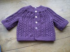 Baby Sweater on Two Needles - Elizabeth Zimmermann on Ravelry.com