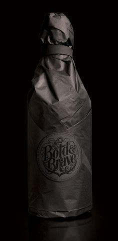 Typography Packaging Design Bottle #logo #vintage