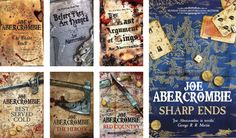 Books by Proxy | Cover Reveal: Sharp Ends by Joe Abercrombie – The First Law Gollancz UK Editions