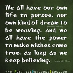 our own purpose