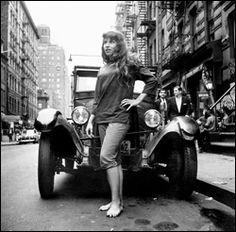 Miss Beatnik 1958, Merle Molofsky (June 1959) Photo by Fred W. McDarrah