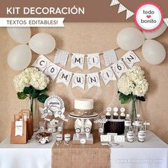 Rústico: kit decoración - Todo Bonito
