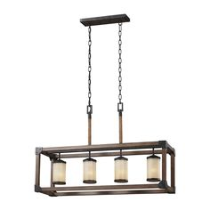 Sea Gull Lighting  from Lowes $450 + 10% off   6613304 Dunning 4 Light Kitchen Island Light at Lowe's Canada. Find our selection of kitchen island lighting at the lowest price guaranteed with price match + 10% off.  $450
