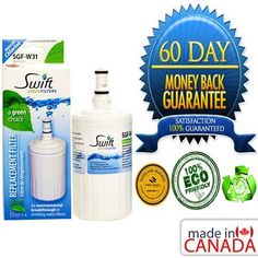 "Green Filter for Kenmore 469002 NSF Certified Refrigerator Water Filter, Cert... . $21.00. Help save the environment with this eco-friendly ""green"" filter that is an original equipment replacement. Compared to conventional carbon-based filters, Swift Green filters are environmentally friendly. Conventional carbon filters are produced by a burning process called open pit charring which release pollution and greenhouse emissions into the air. Swift Green filter components ..."