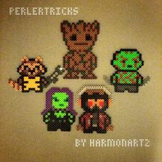 Guardians of the Galaxy hama perler beads by perlertricks (by HarmonArt2)
