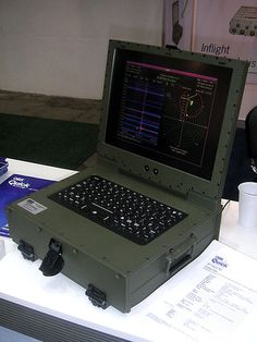 Harrier Laptop. Laptops are expensive but very mobile and usefull...