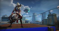 Get Ready To Play As A Female Assassin In Sunset Overdrive