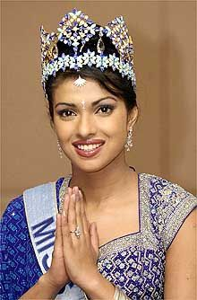 Image result for priyanka chopra miss world dress