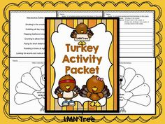 Turkey Activity Packet #ClassroomFreebies