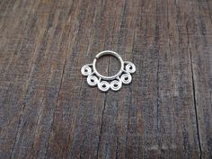 Septum Ring,Fake Septum, Piercing Septum,Faux Septum Ring,Oxidized Septum,Nose Cuff,Indian Septum Ring,Tribal Septum,Medusa Piercing,Studs.. by TheEthnicJewels on Etsy