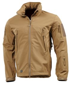 Wolf Grey Pentagon Artaxes Softshell Jacket is available now at Military  online store. We stock a vast assortment of tactical jackets and soft  shells. 1596d8f0f71