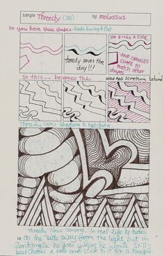 TOrg Threedy by molossus, who says Life Imitates Doodles, via Flickr