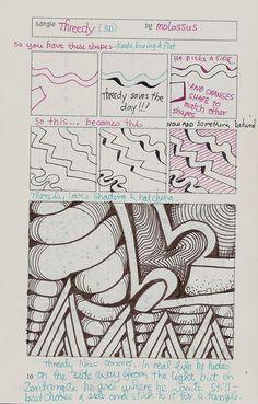 TOrg Threedy by molossus, who says Life Imitates Doodles, via Flickr