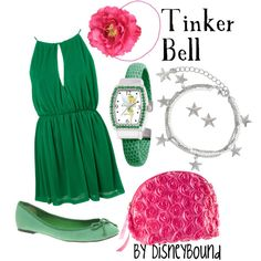 """Tinker Bell"" by lalakay on Polyvore"