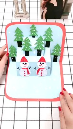 Christmas Paper Crafts, Paper Crafts For Kids, Kids Christmas, Holiday Crafts, Fun Crafts, Train Crafts, Activities, Projects, Ideas