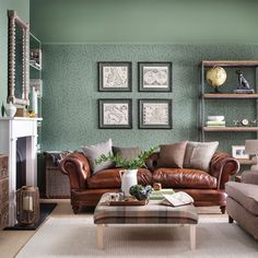 images of small country living rooms room sofa and chair ideas 2045 best farmhouse chic life botanical wallpaper how to decorate with green blue decor