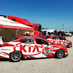 """""""Great job by the Kia Racing team for scoring back-to-back podium finishes at Road America! Kia Optima, Racing Team, Preston, America, Twitter, Store, Larger, Shop, Usa"""