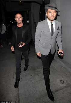 Oh brother: Matt and Luke Goss proved they've still got the magic touch as they got together for a dinner date in West Hollywood on Thursday evening