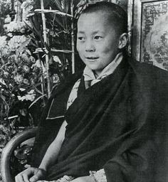 A young Dalai Lama reminding us that our youth will one day lead us to a brighter future.