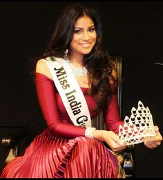 Miss India Guyana 2013 - Katherina Roshana #beauty #indian